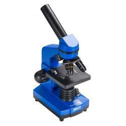 Mikroskop DO BioLight 100 niebieski z mikrotomem uczniowskim